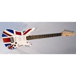 """Guitare Electrique Strato """"England"""""""
