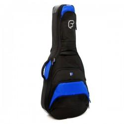 Housse Guitare Acoustique FUSION F1 Noir/Bleu