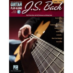 J.S. Bach - Guitar Play-Along Volume 151 - tab.