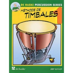 Méthode de Timbale 1 + CD