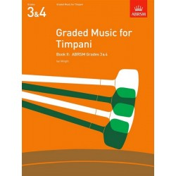 Graded Music for Timpani, Book II - Timbales