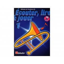 Ecouter, Lire & Jouer Trombone 1 - Clé Sol