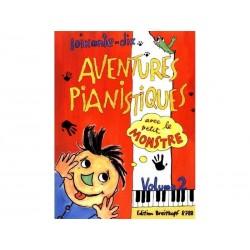 70 Aventures Pianistiques - Vol 2 - Petit Monstre