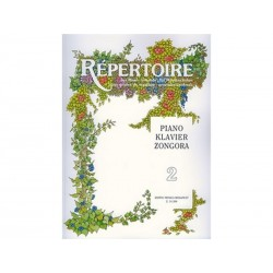 RÉPERTOIRE Piano - Vol. 2 - Zongora