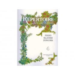 RÉPERTOIRE Piano - Vol. 4 - Zongora