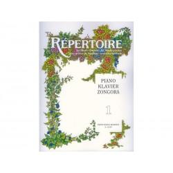RÉPERTOIRE Piano - Vol. 1 - Zongora
