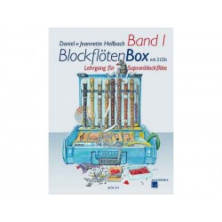BlockflötenBox Band 1 avec 2 CD's - Soprano