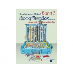 BlockflötenBox Band 2 avec 2 CD's - Soprano