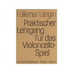 Praktischer Lehrgang Vol 3 - Folkmar Längin - Violoncelle