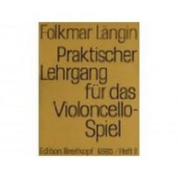Praktischer Lehrgang Vol 5 - Folkmar Längin - Violoncelle