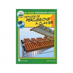 Méthode de Percussion à clavier 1 + CD