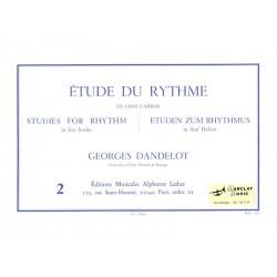 Etude du Rythme 2 - Dandelot