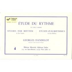 Etude du Rythme 4 - Dandelot