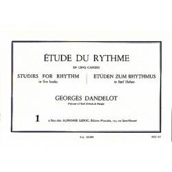 Etude du Rythme 1 - Dandelot