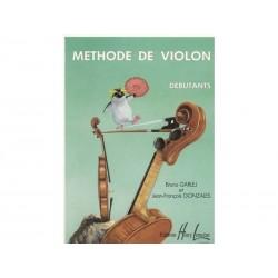 Méthode de violon - Débutant