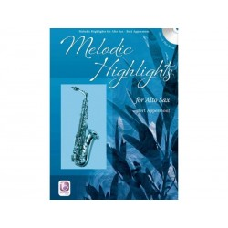 Melodic Highlights - Sax Alto + CD