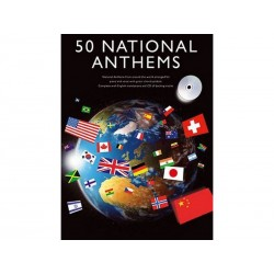 50 Hymnes nationaux +CD - 50 National Anthems