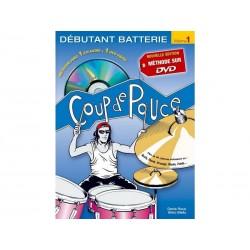 Coup de Pouce Batterie Vol. 1 +CD +DVD