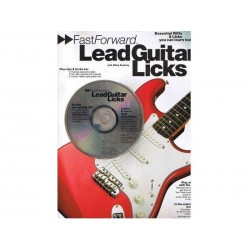 Lead Guitar Licks - FasForward + CD