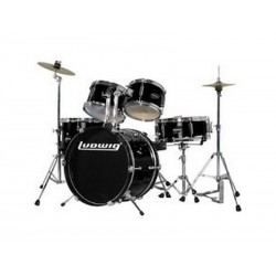 "Batterie JUNIOR 16"" LUDWIG Noir"