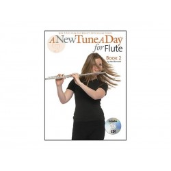 A New Tune A Day for Flute Book 2 + CD