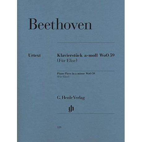 Pour Elise - Für Elise - Beethoven - Henle