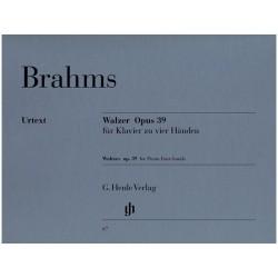 Valses Brahms op. 39 - Piano 4 mains