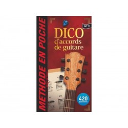 Mini dictionnaire d´accords de guitare - Music en poche 2