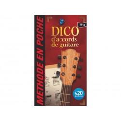 Mini dictionnaire d´accords de guitare - Music en poche 2