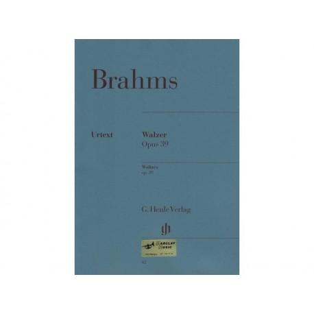 Valses Brahms op. 39 - Piano