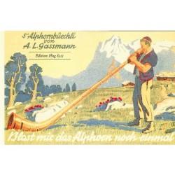 Alphornbüechli + Méthode Cor des Alpes