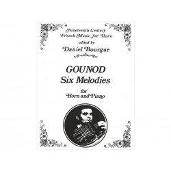 Six Melodies GOUNOD - cor & piano