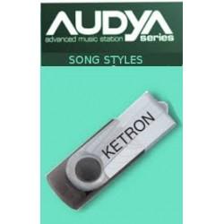 Ketron AUDYA PenDrive 2012 - USB Stick
