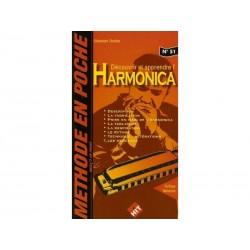 Découvrir et apprendre l'Harmonica - Méthode en poche n°51