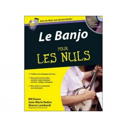 Banjo pour les Nuls + CD