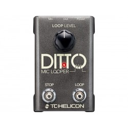 Ditto Looper Mic Vocal - tc electronic