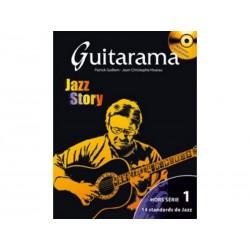 Guitarama Jazz Story Hors-série 1 - 14 titres + CD