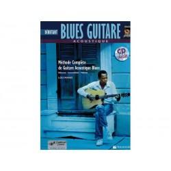 Blues guitare acoustique + CD - Débutant