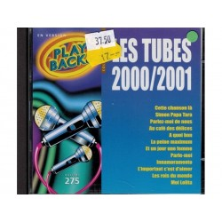 CD play backs les tubes 2000/2001