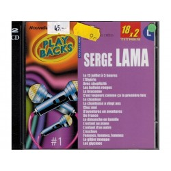 CD Play Backs serge Lama