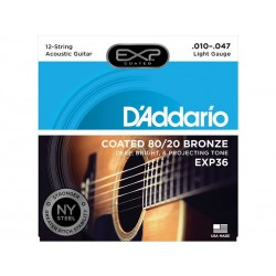 Cordes Acoustique 12 cordes EXP Bronze ♫
