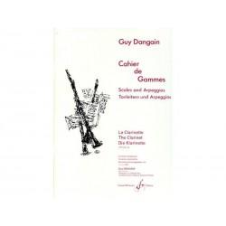 Cahier de Gammes - Dangain - Clarinette
