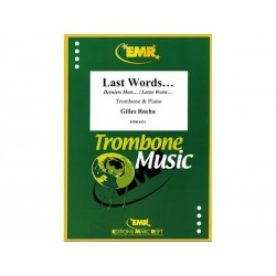 Last Words... - Trombone/Piano - G. Rocha