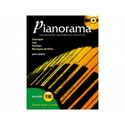 Pianorama 1B - 37 Titres + CD