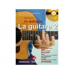 Je débute la guitare vol 2 + CD
