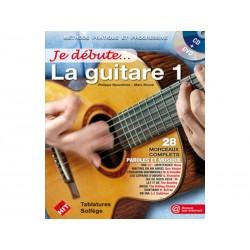 Je débute la guitare 1 + CD et DVD