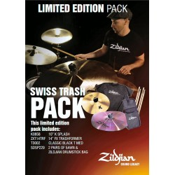ZILDJIAN SWISS Trash Pack Edition limitée