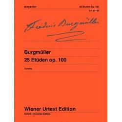 Burgmüller 25 Etudes Op. 100 - Piano