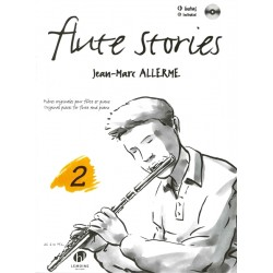 Flute Stories Vol. 2 + CD - ALLERME