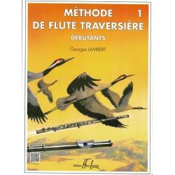 Méthode de flûte Vol.1 débutants -  LAMBERT Georges